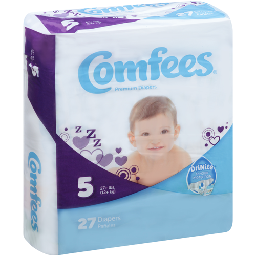 20//Bg Comfees CMF-7 Baby Diapers Size 7 41+lbs