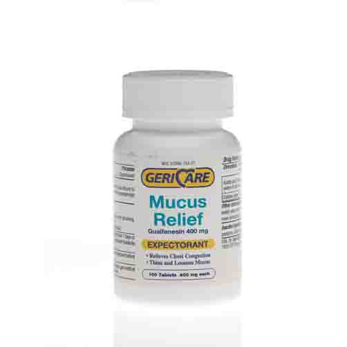 Guaifenesin Mucas Relief Tablets
