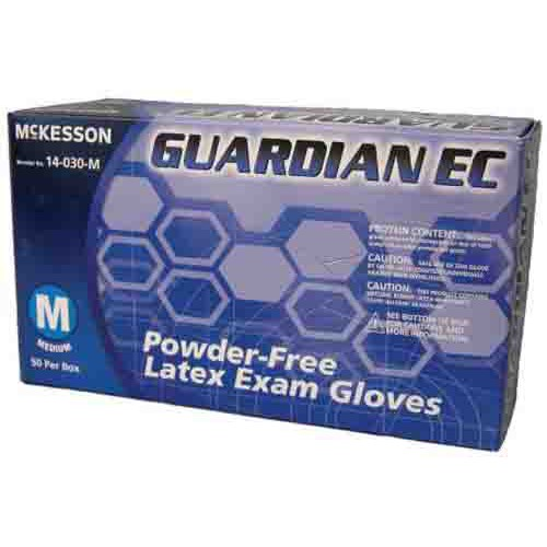 GUARDIAN EC Latex Exam Gloves Powder Free - NonSterile