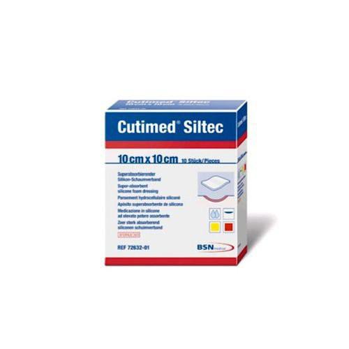 Cutimed Siltec Sorbact Dressing 7992900 | 8 x 8 cm | 3 x 3 Inch by BSN