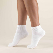 TRUFORM TruSoft Diabetic Mini-Crew Length Socks