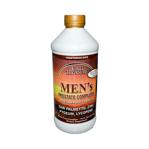 Buried Treasure Mens Prostate Complete Health Dietary Supplement