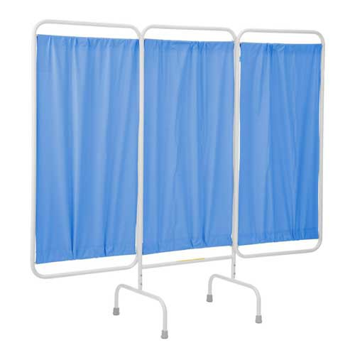 Privacy Screen Stationary or Portable Room Divider Curtain Wall