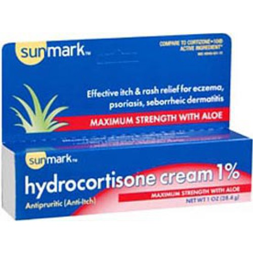Hydrocortisone 1% Anti-Itch Cream – 1 Ounce Tube