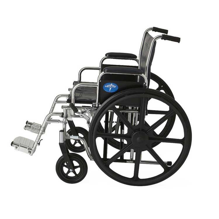 medline extra wide wheelchair 9bf