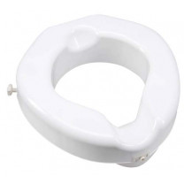 Safe Lock Raised Toilet Seat