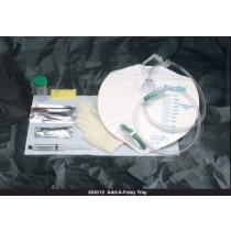 Bardia Closed System Foley Insertion Tray with 2000 mL Drainage Bag