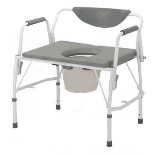 Deluxe Bariatric Drop Arm Commode, Heavy Duty - Drive