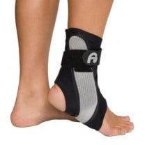 Black AirCast A60 Ankle Support