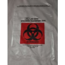 Biohazard Symbol Specimen Transport Bag