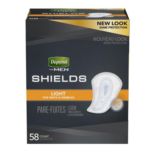 Depend Shields for Men
