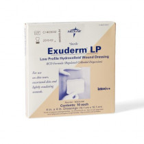 Exuderm LP 4x4 in., Box of 10