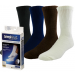 Jobst SensiFoot Unisex Crew Length Diabetic Mild Compression Socks 8-15 mmHg