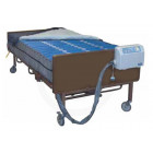 Med-Aire PLUS 42 Inch Wide Bariatric Alternating Pressure Low Air Loss Mattress System - 14030