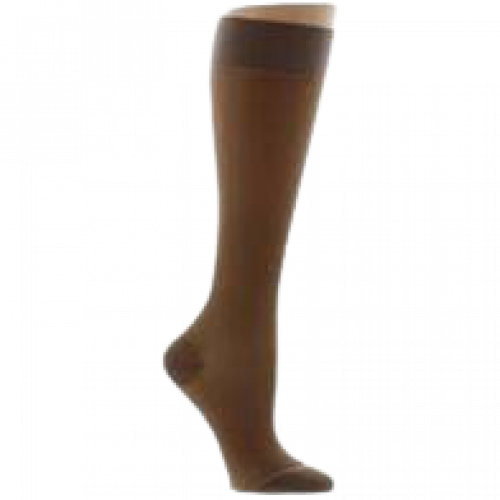 LEGLINE Sheer Compression Stockings Knee High CLOSED TOE 15-20 mmHg