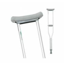 Height Adjustable Aluminum Crutches
