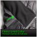 Quilted Nylon Heated Vest Fleece Lined Collar Men's Vest