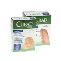 CURAD Fabric Adhesive Bandages, Latex Free Sterile