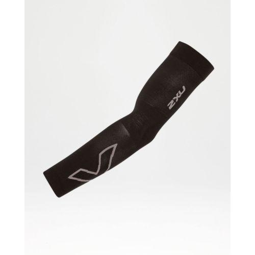 Black/Grey Compression Flex Arm Sleeve