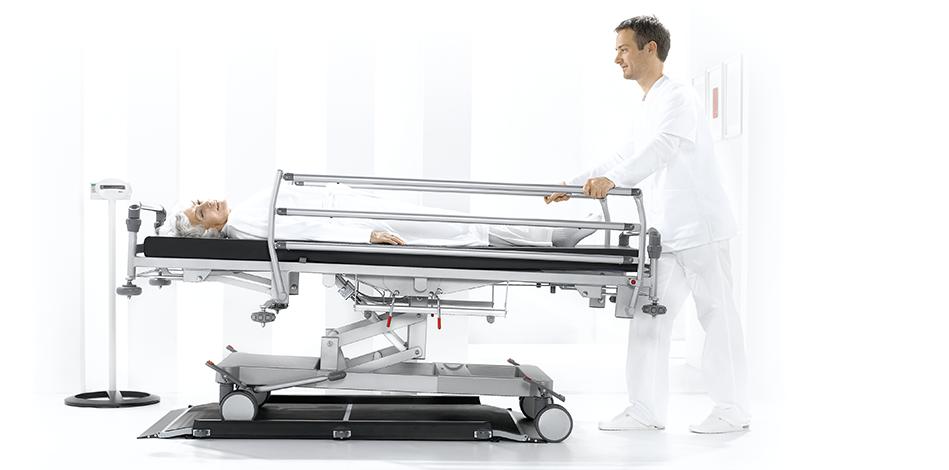 seca high capacity digital stretcher scale with wireless transmission 656 5e3
