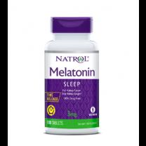 Natrol Melatonin Time Release Supplement Tablets
