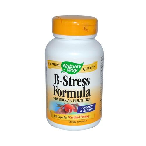 Natures Way B Stress Formula with Siberian Eleuthero