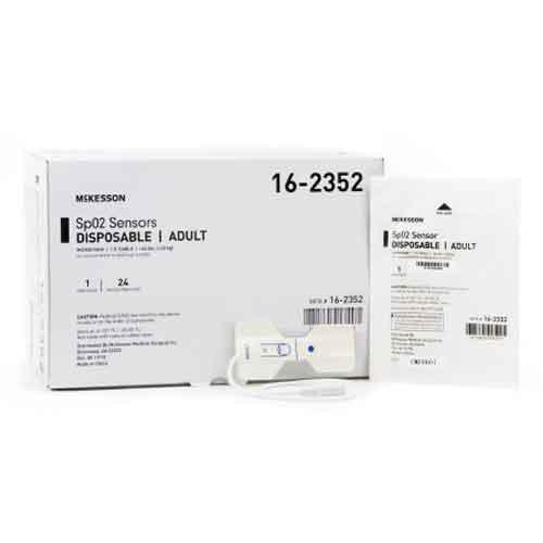 McKesson Disposable Pulse Oximeter Sensor Adult