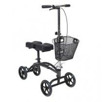 Drive steerable knee walker