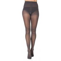 Sigvaris 711 Allure Women's Patterned Compression Pantyhose CLOSED TOE 15-20 mmHg
