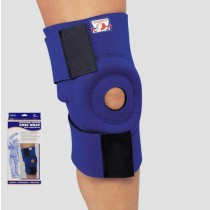Neoprene Knee Wrap with Encircling Stabilizer Pad