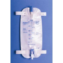 Teleflex Medical Inc Premium Leg Bag with Strap and Easy Tap Valve