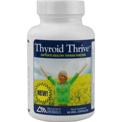 Ridgecrest Herbals Thyroid Thrive Herbal