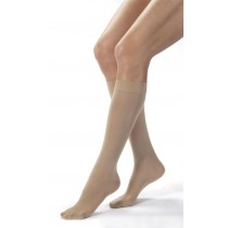 Jobst Opaque Knee High Compression Socks CLOSED TOE 30-40 mmHg