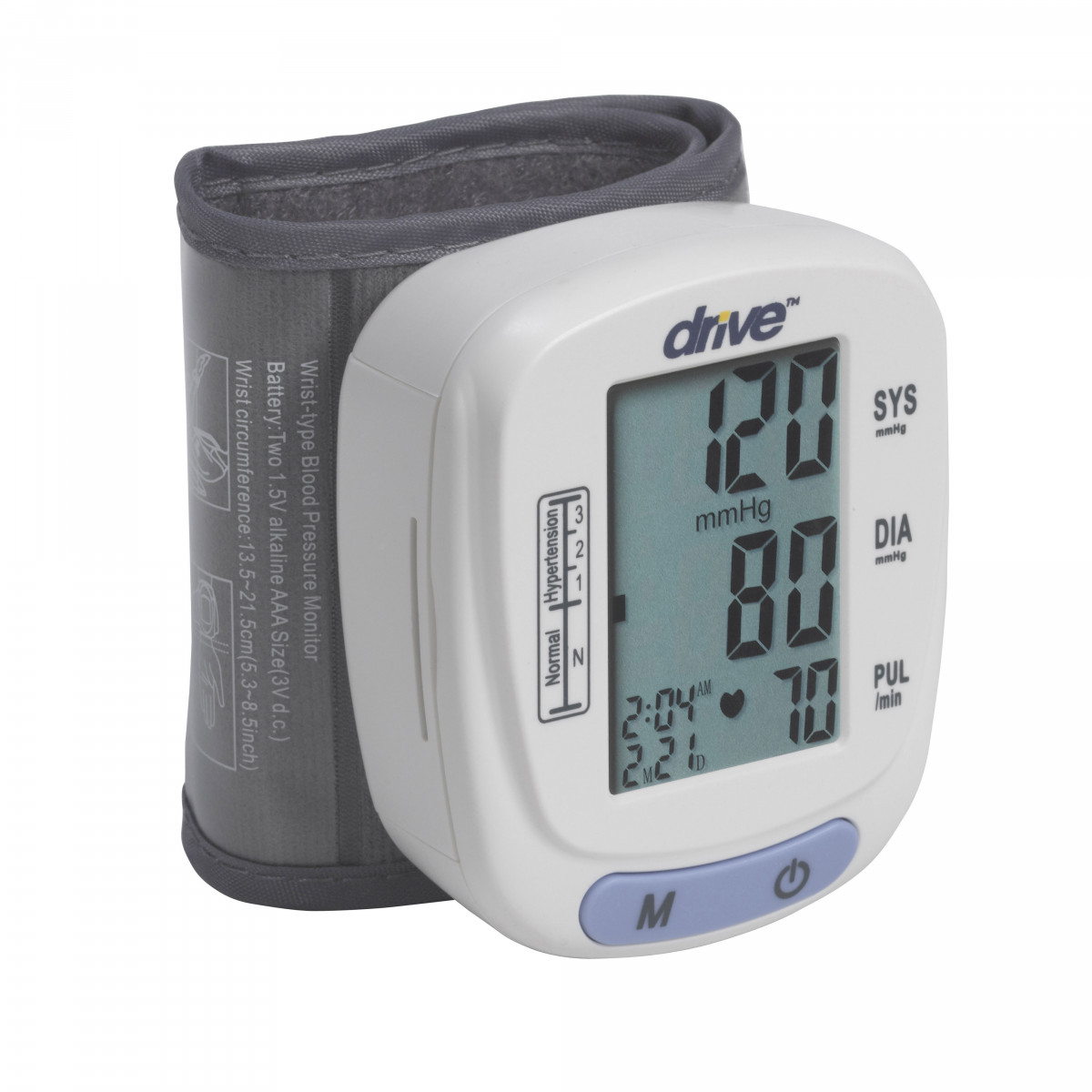 automatic blood pressure monitor wrist model 1b1