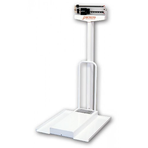 Detecto 485 Stationary Mechanical Wheelchair Scale