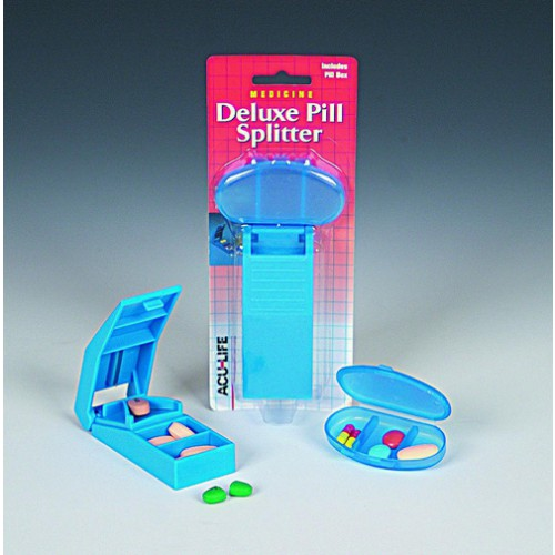 Pill Splitter and Box