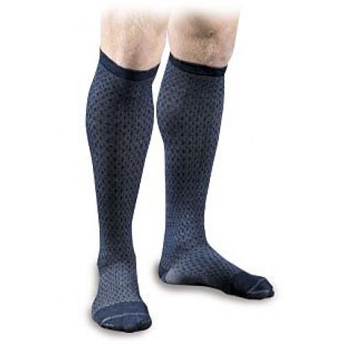 Activa Sheer Therapy Men's Herringbone Pattern Casual Compression Socks 15-20 mmHg