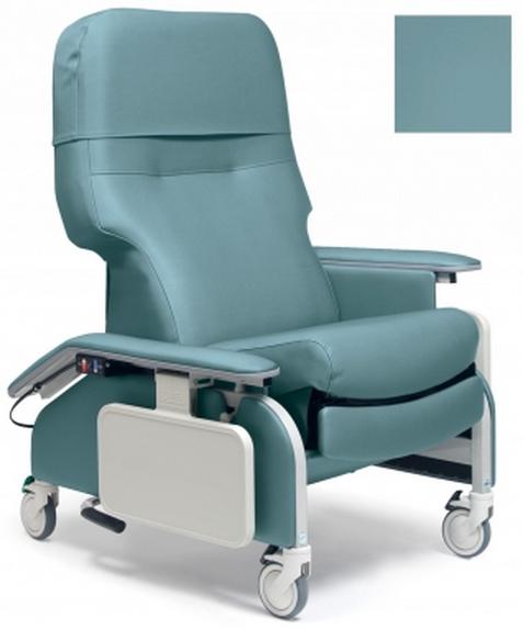 lumex deluxe clinical care recliner by graham field  ebc