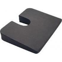 Super Compressed Premium Foam Coccyx Cushion, Cut-Out