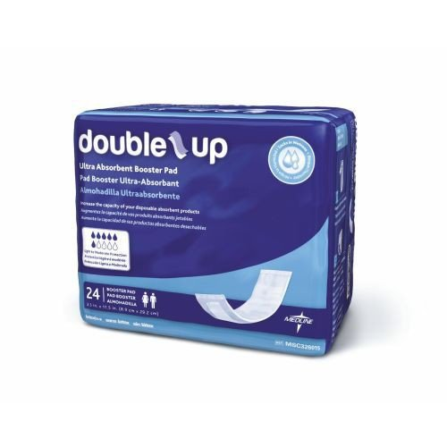 Double-Up Incontinence Underwear Liners, Pack of 24