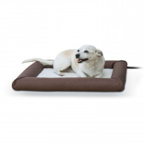 K&H Deluxe Lectro-Soft Outdoor Heated Pet Bed