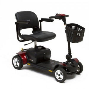 Pride Go-Go Elite Traveller Plus 4-Wheel Mobility Scooter SC54