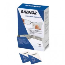 Radnor Pre-Moistened Lens Cleaning Towlettes