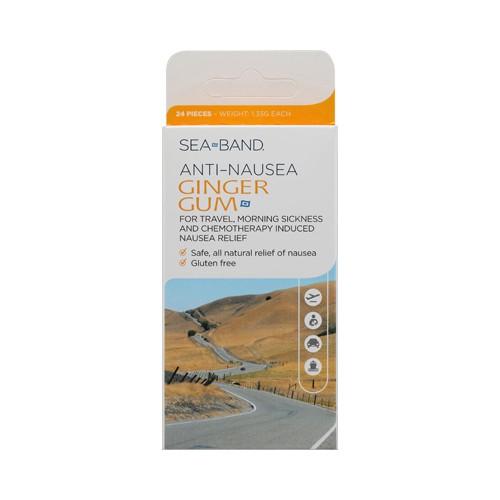 Sea Band Anti Nausea Ginger Gum