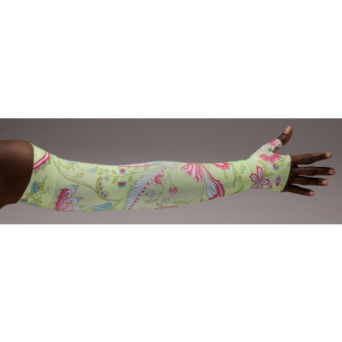 LympheDivas Sweet Pea Compression Arm Sleeve 30-40 mmHg w/ Diva Diamond Band