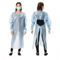 Over the Head Protective Procedure Gown NonSterile