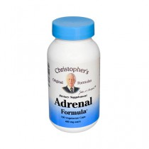 Dr Christophers Formulas Adrenal Formula 400 mg Dietary Supplement