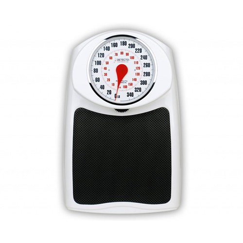 Detecto D350 Raised Easy to View Bathroom Scale