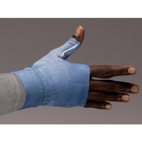 LympheDivas Denim Compression Gauntlet 30-40 mmHg