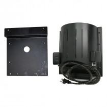 Heat-N-Breeze Dog House Heater and Fan with Igloo Bracket